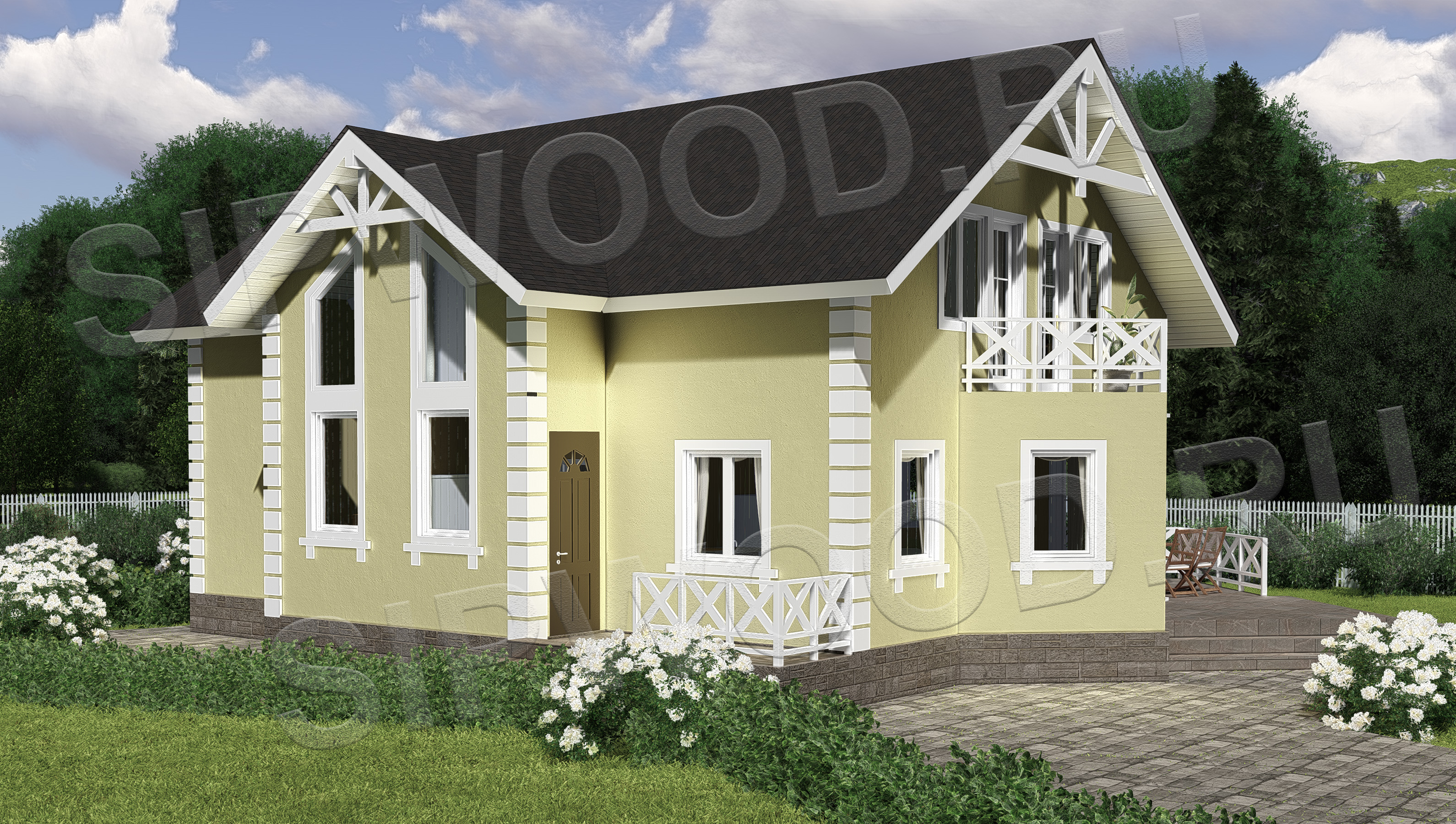 «Рамси - 256» – дом из сип-панелей