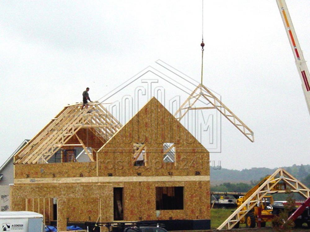 """Готовые проекты домов от компании """"sipwood""""."""